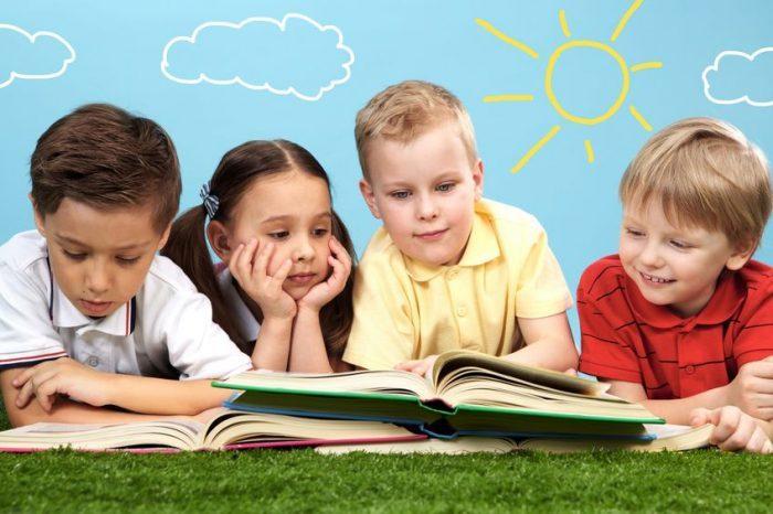 niños y la lectura