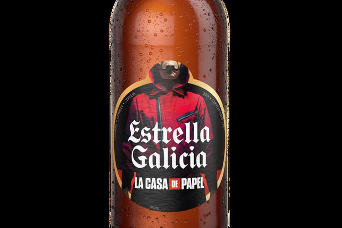 La Casa de Papel y Estrella Galícia